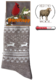 "Термоноски NordKapp Beige арт. 517-1B Коллекция ""Норвежские звезды"""