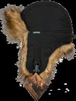 Шапка-ушанка NordKapp Malselv Canadian Fox black арт. 533