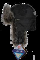 Шапка-ушанка NordKapp Talvi Badger MX Black арт. 577