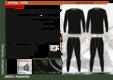 Термобельё с шерстью NordKapp ARCTIC 9004 black